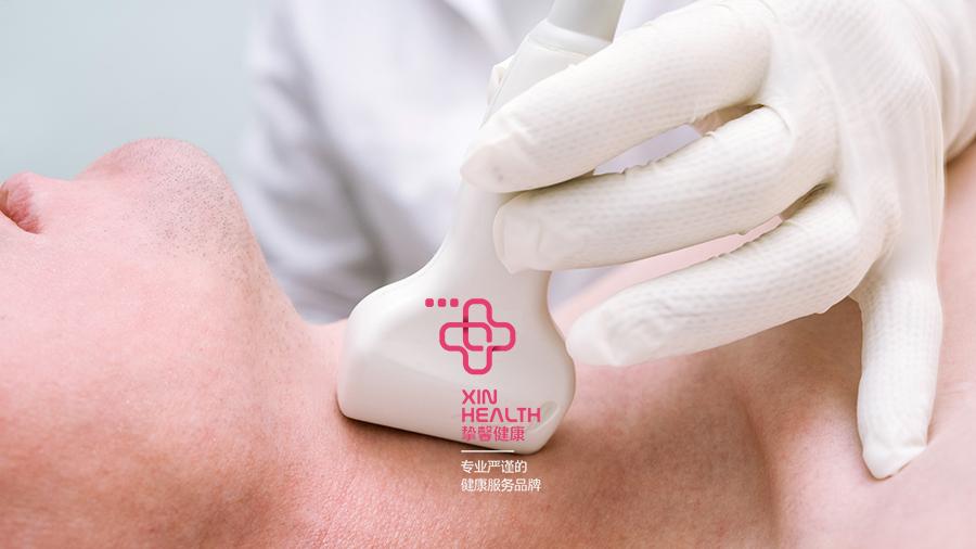 日本体检 甲状腺检查过程
