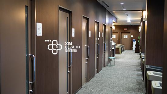 体检中心内部走廊