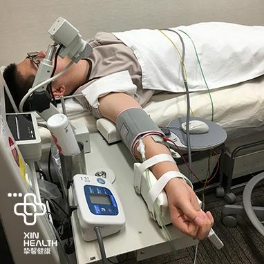 在日本体检量血压