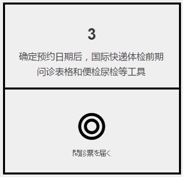 日本体检预约,第3步