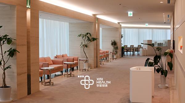 日本冻卵医院休息区