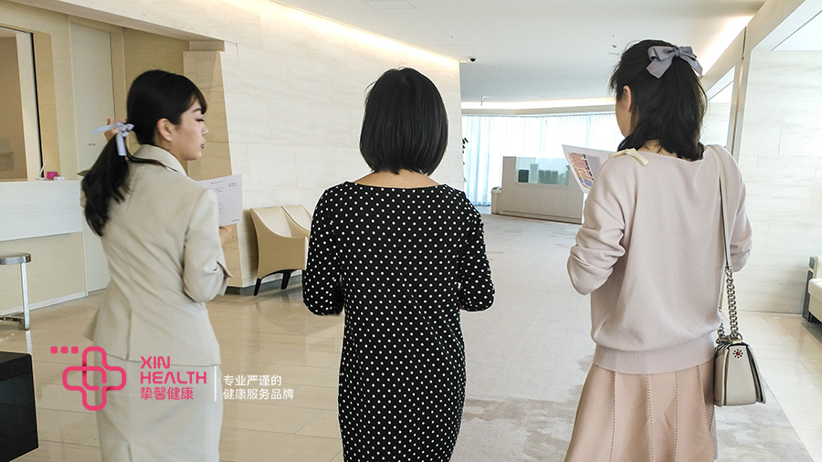 日本试管婴儿用户与陪同翻译在一起