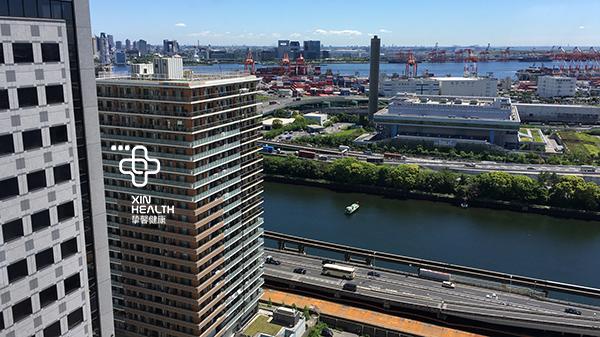 日本高级体检医院外景