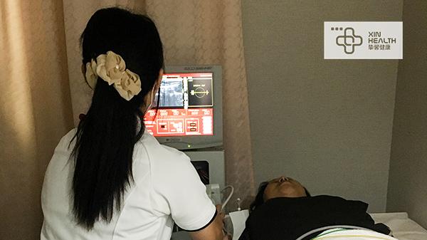 妇科检查过程中