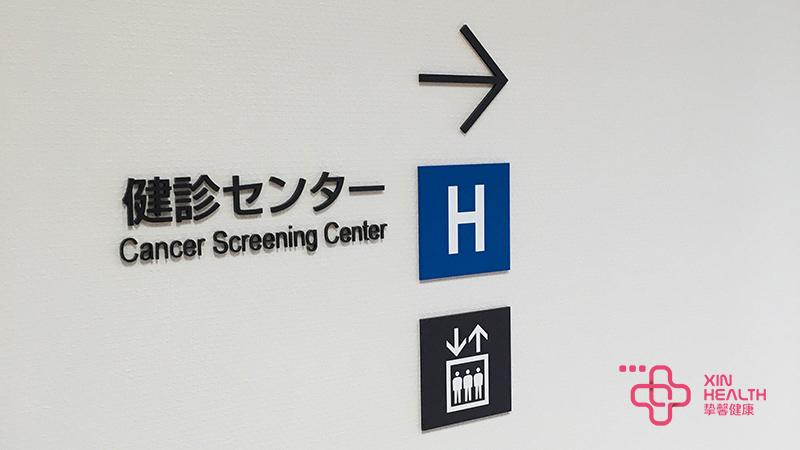 体检中心指示牌