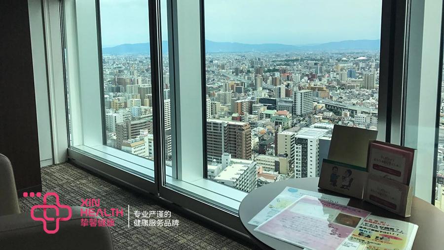 日本体检休息区环境