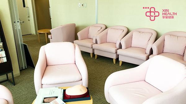 为女人准备的体检休息区