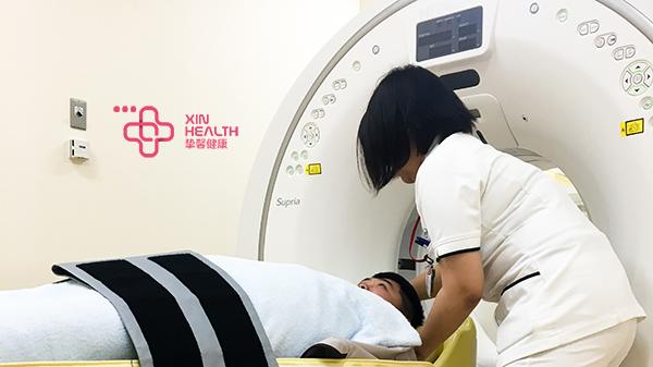 CT检查过程