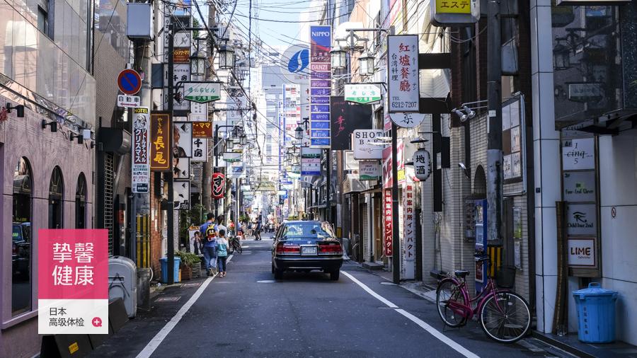日本街道风景