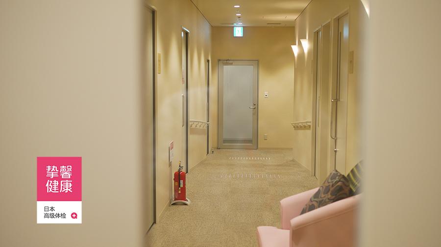 舒适的女性体检室