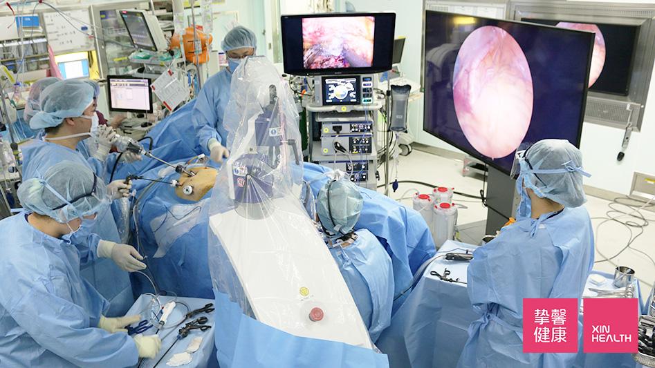 旭川医科大学病院 8K内视镜手术现场