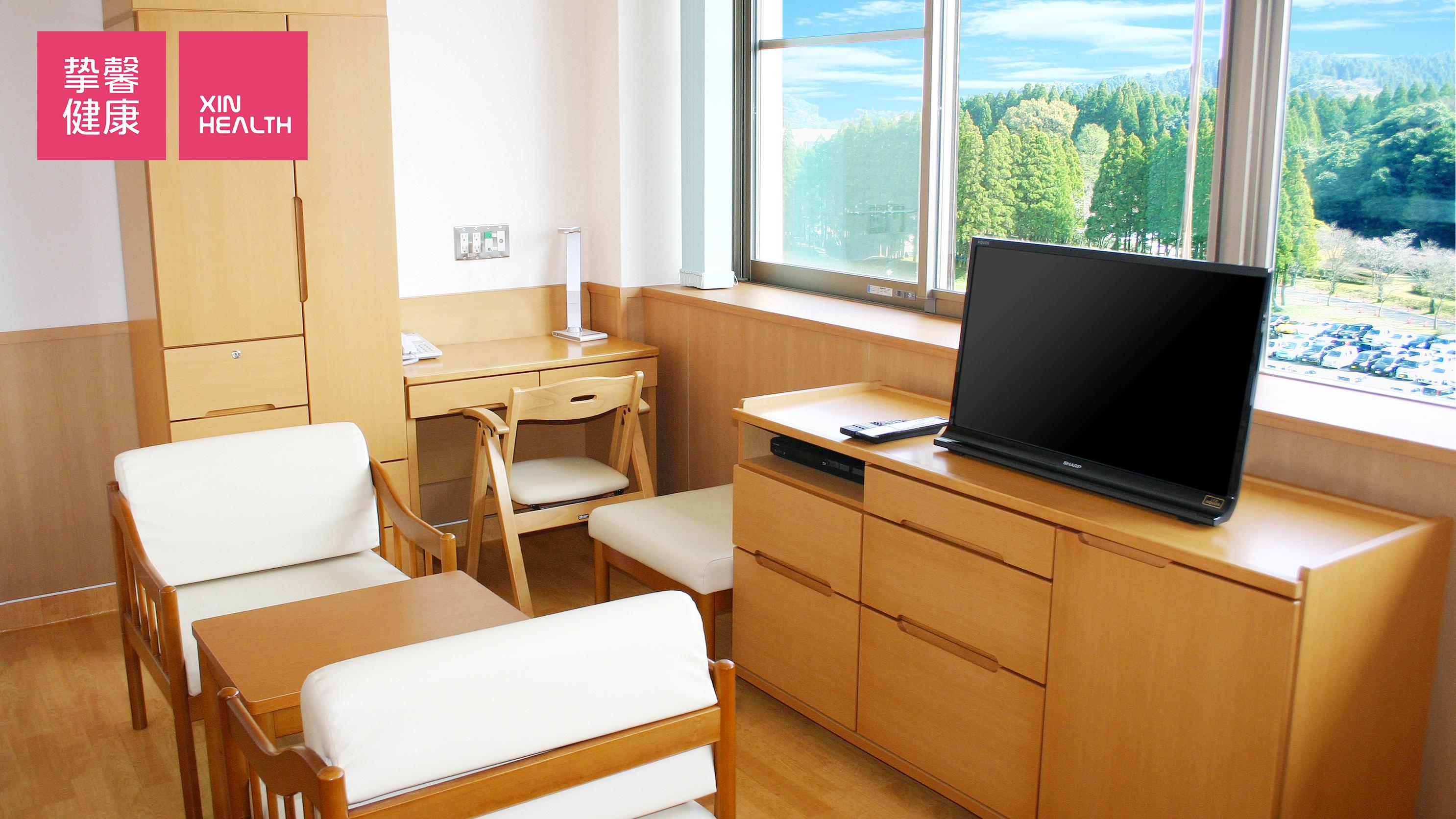宫崎大学医学部附属病院 病房环境