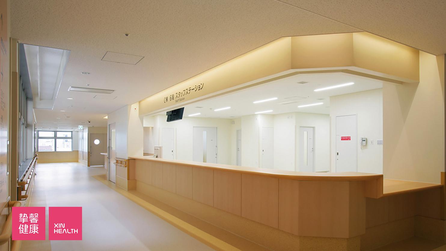 鹿儿岛大学病院 C栋 护士台