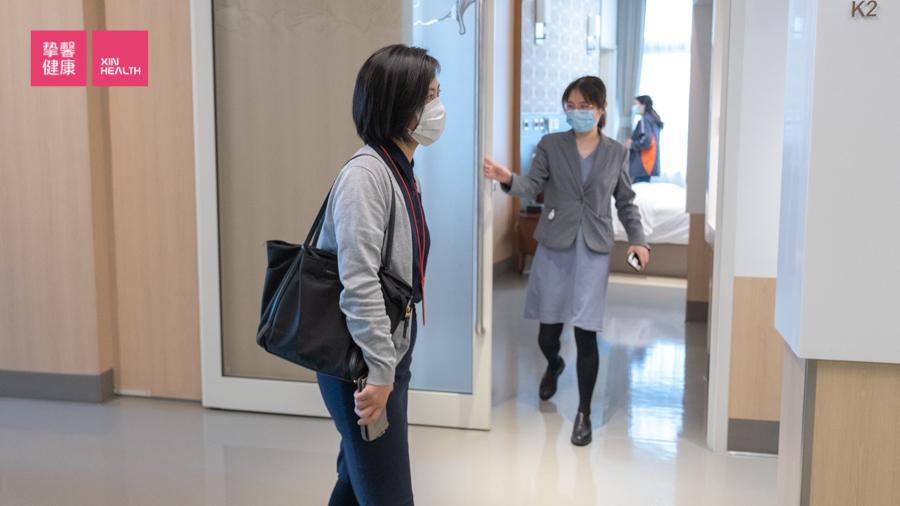 高级体检 带领用户到达医院