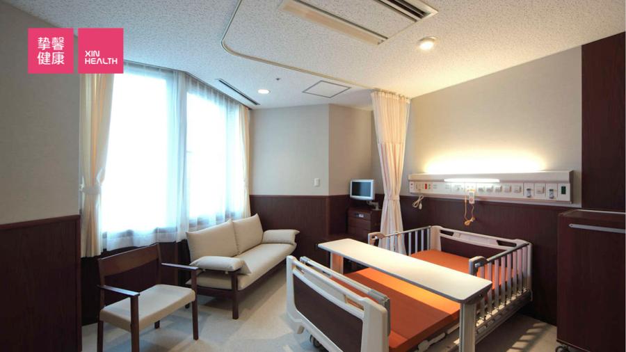 富山大学附属病院 病房环境