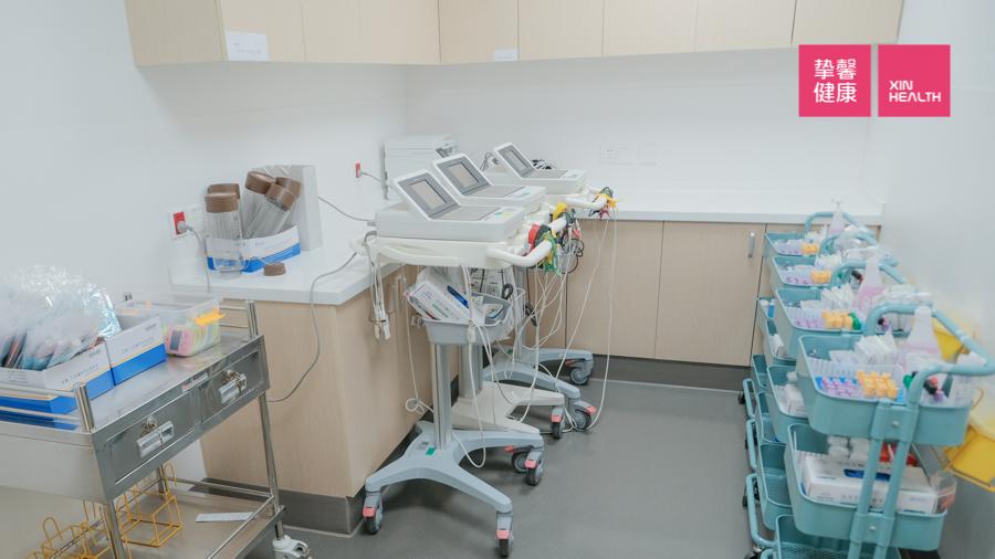 国内高级体检 VIP区 护士准备室