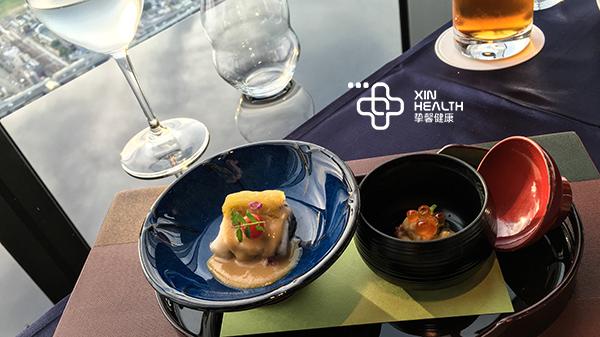 挚馨健康 Xin Health 日本体检套餐所含餐食
