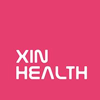 挚馨健康 Xin Health 英文logo