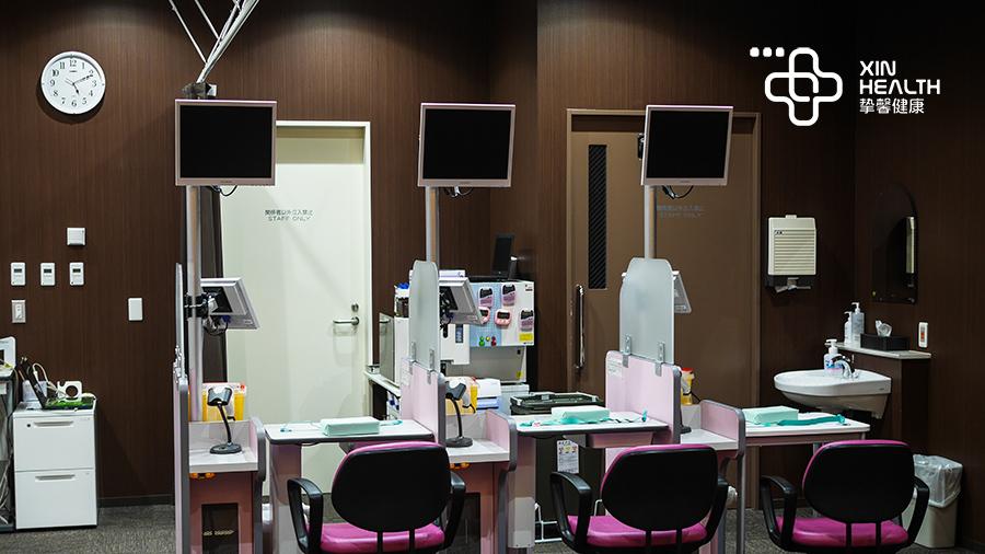 日本体检女性检查科室