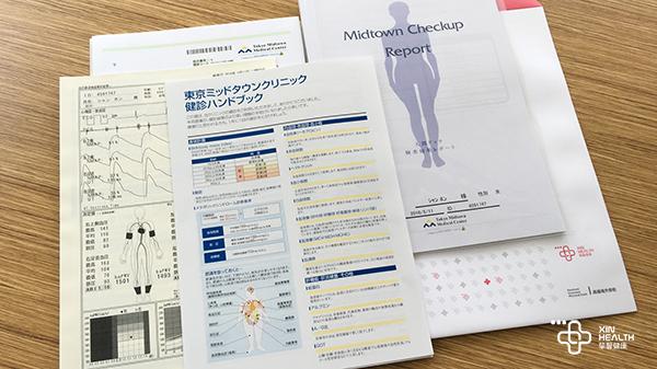 日本体检文件