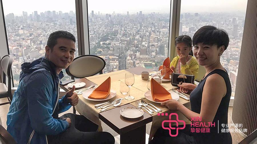 日本体检用户在用晚餐