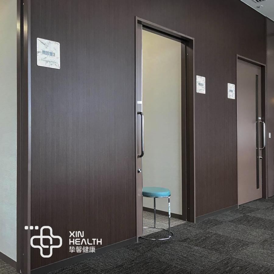 日本体检医院内部问诊室