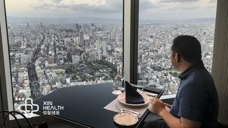 挚馨健康日本高级体检用户体检后休息和用餐