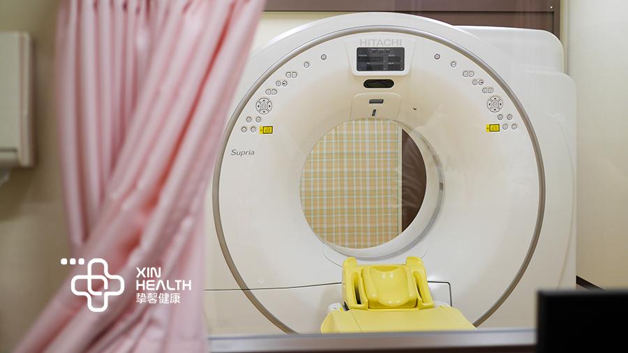 日本体检中CT设备,日立制造