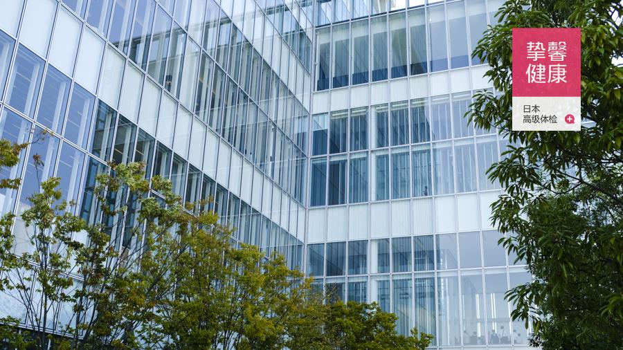 日本医院大厦外部景色