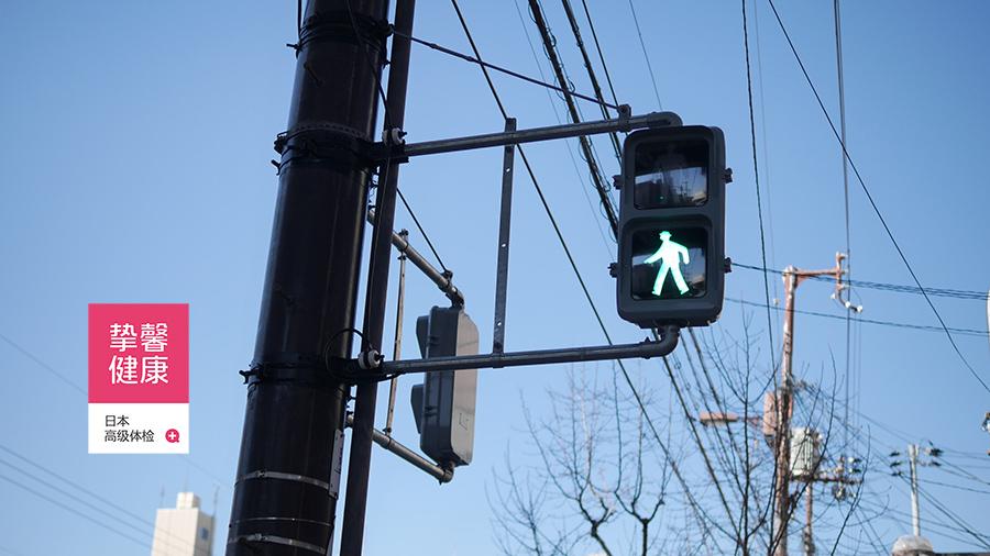 日本街道红绿灯
