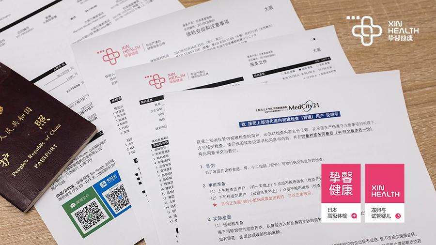 日本体检问诊材料