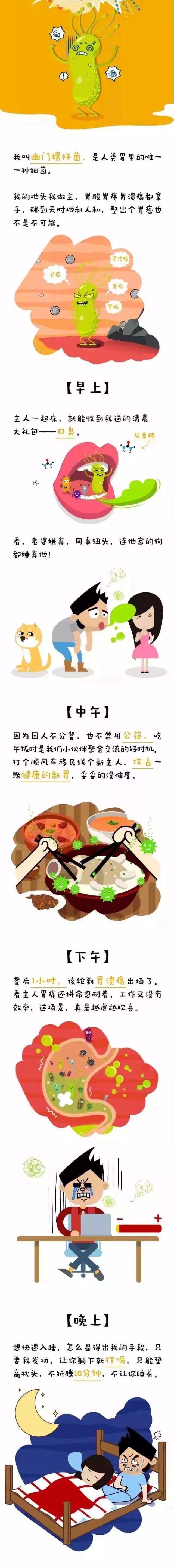 幽门螺杆菌在胃里一天的活动是怎样的
