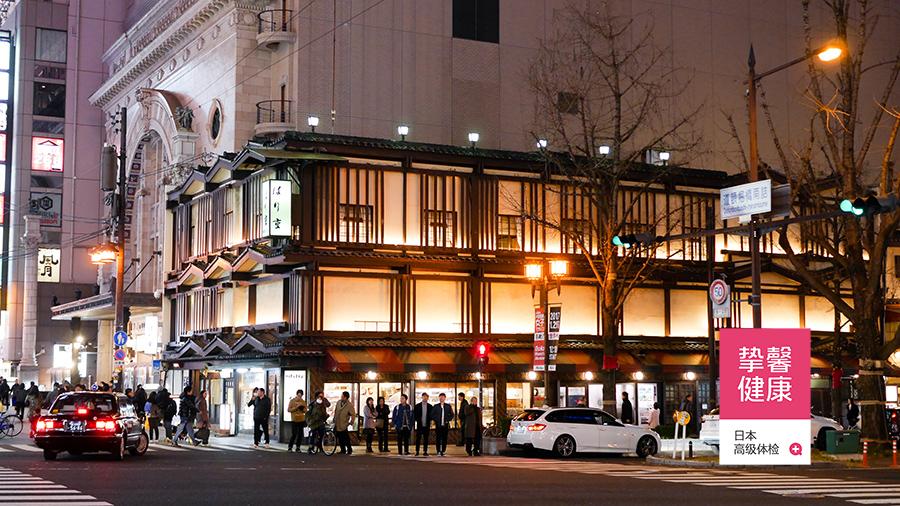 日本街道夜景