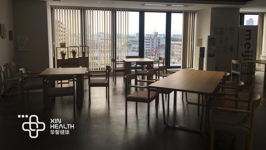 日本体检医院内部设施
