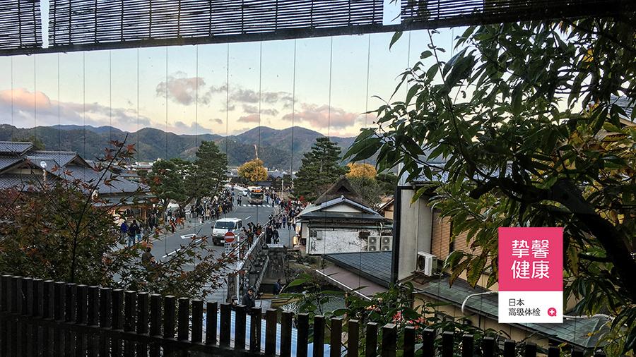 日本京都岚山地区