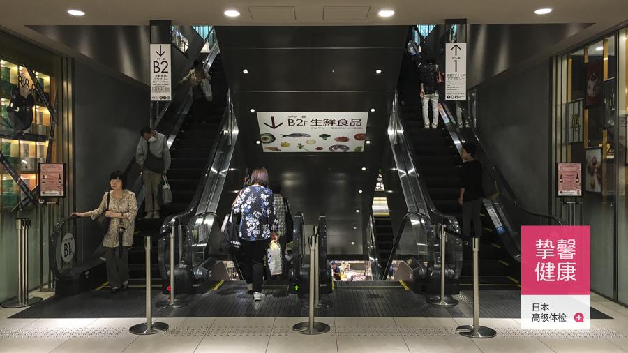 全日本最高楼内有全日本最大的近铁百货本店(总店)
