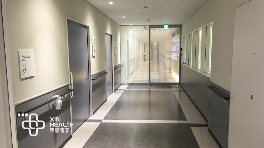 安静舒适的高端体检医院走廊
