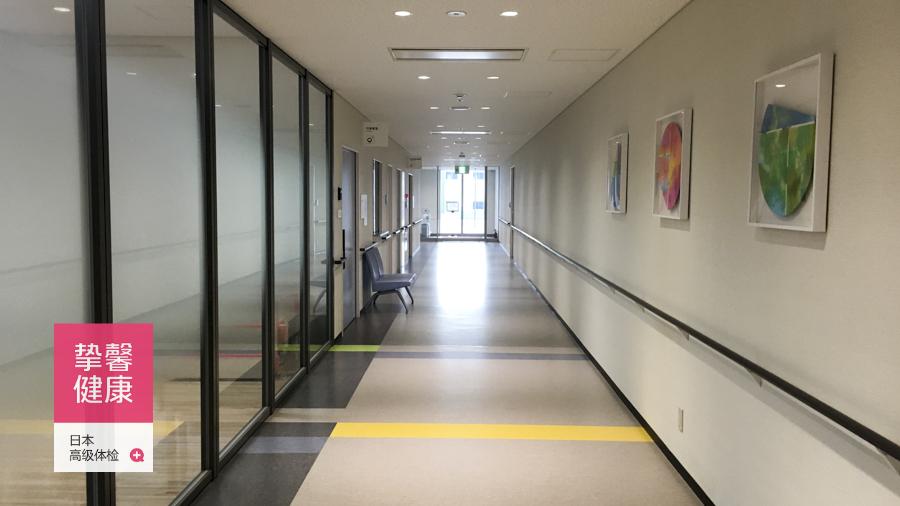 日本体检医院与国内体检医院最大的区别就是安静与干净