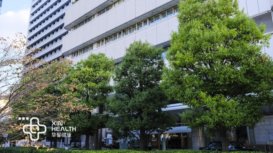 日本高级体检医院外景优美