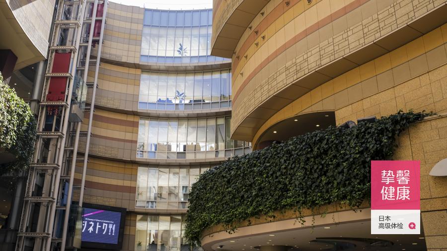 日本高级体检医院大楼外部