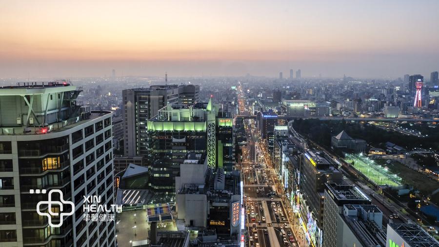迷人的日本夜景