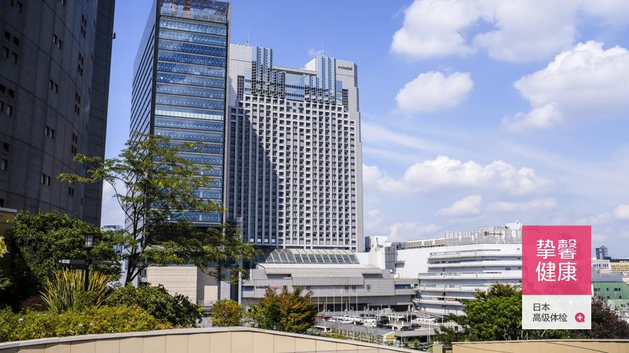 日本高端体检医院大楼