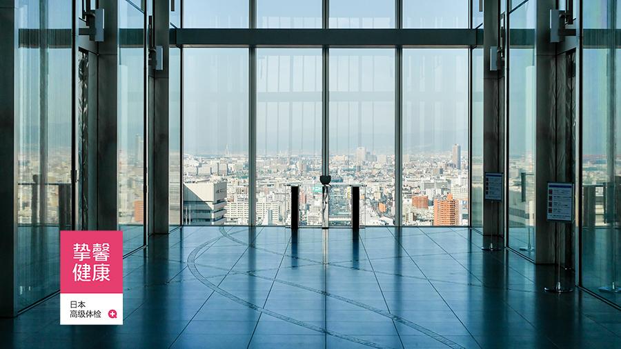 日本高级体检医院大楼环境