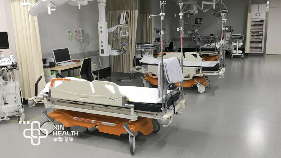 日本高级体检医院烫伤急诊部病床