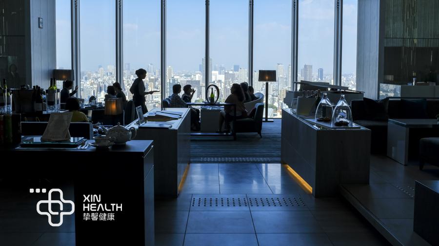 日本精密体检客户用餐