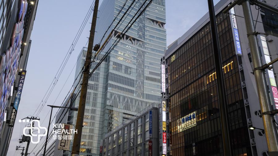 去日本最高楼做健康体检