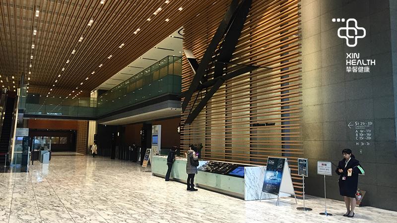 日本高级体检大楼内部环境