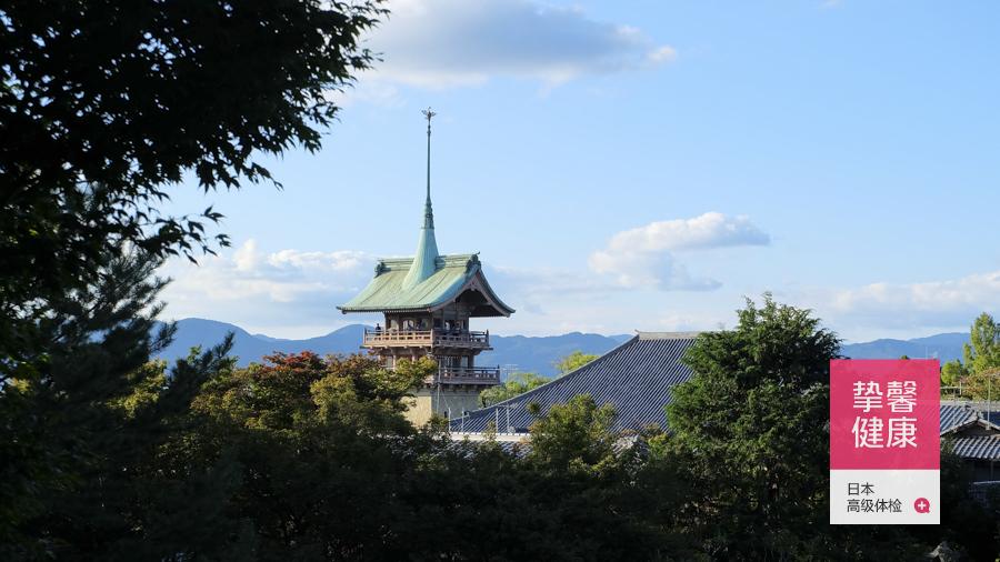 日本京都旅游区寺庙
