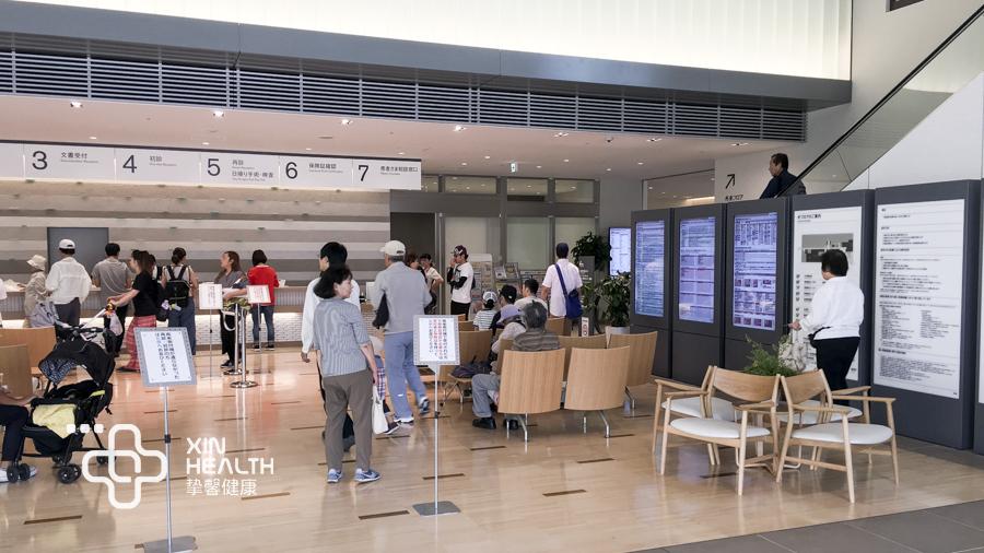 日本高级体检前台服务