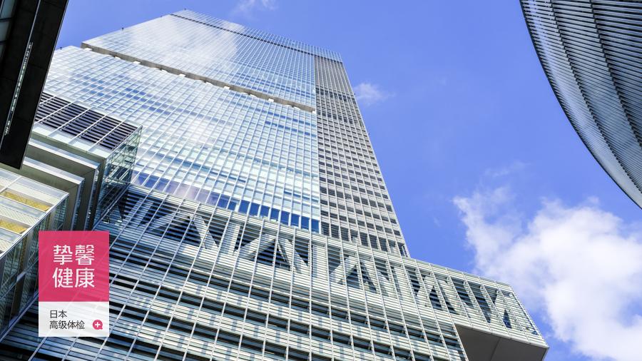 日本大阪高端体检部大楼